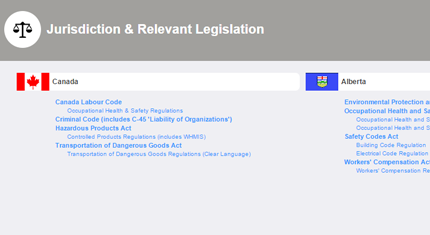 legislation hosting example