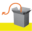 Box with arrow pointing out